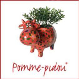 Mucca Porta Piantina