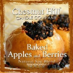 Baked Apples and Berries